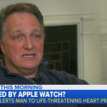 An Apple Watch saved a man having irregular heartbeat